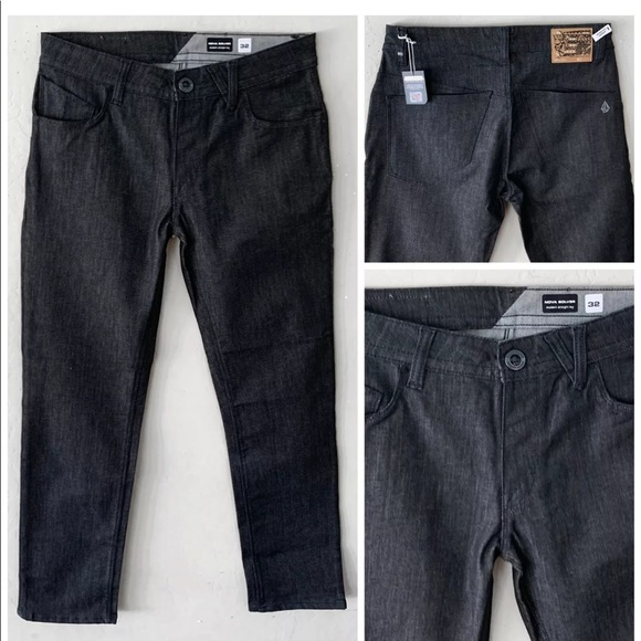 Volcom Other - VOLCOM NOVA SOLVER MODERN STRAIGHT LEG DENIM 32/32
